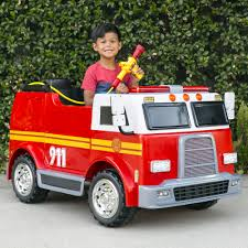 100 Fire Truck Ride On BestChoiceProducts Best Choice Products 12V 24MPH 2Speed Kids