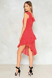 some like it dot polka dot dress shop clothes at nasty gal
