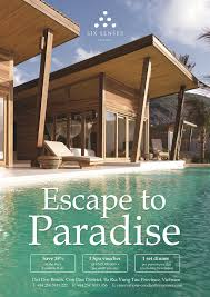 100 Six Sense Con Dao Resort S Special Promotion ESCAPE TO PARADISE