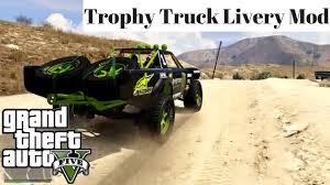 GTA V PC Mods - Trophy Truck Monster Energy Livery Mod - YouTube