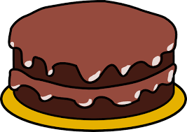 cake clipart chocolate cake 2