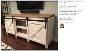 Ana White Grandy Sliding Door Console Diy Projects Screen Shot End