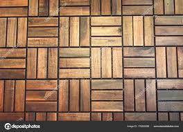 Top View Vintage Parquet Floor Nature Wooden Wall Abstract Geometric Stock Photo