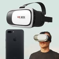 VR BOX Virtual Reality iPhone 7 Plus Headset White Black