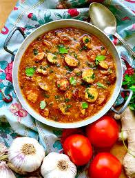 cuisine creole mauricienne rougaille saucisses à ma façon avec des saucisses de montbéliard