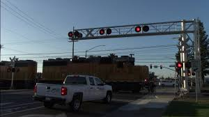 Mercantile Dr. Railroad Crossing, UP 1451 LRR93 Folsom Turn Local ...