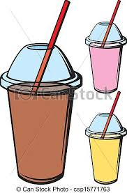 Milk Shake Different Kinds Of Fresh Beverage Clip