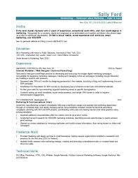 Entry Level Inbound Marketer Page 001 12 Marketing Resume