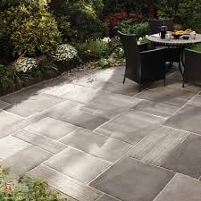 Installing 12x12 Patio Pavers by Engineered Stone Paving Tile For Outdoor Floors Cloisters