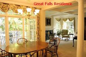 Lovable Formal Dining Room Curtains And Rooms Best 2017