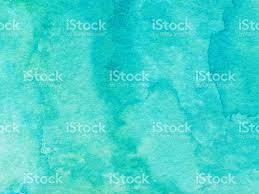 Textured Background Hand Painted With Bright Blue Turquoise Color Royalty Free Stock Photo