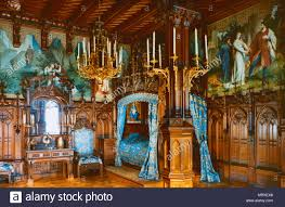 schlafzimmer neuschwanstein bayern deutschland