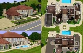 sims 3 house ideas mansion