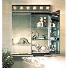 medicine cabinets with lights fascinating built in bathroom