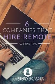 Work From Home: 5 Companies That Hire Remote Workers | Business ... 5 Highearning Work From Home Jobs Frugal Rules Companies That Hire Remote Workers Business Online Graphic Design Best Ideas 70 Legitimate Nphone Workathome Earn Smart Class Stayathome For Beginners Where To Start When Youre The 25 Best At Home Companies Ideas On Pinterest From And Inside Scoop Apple Athome Elegant Playful Logo Designer Resume Fresh At