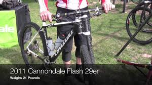 NEW FOR 2011 Cannondale Flash 29er