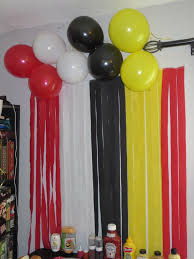 Mickey Mouse 2nd Birthday   Musings Of A Pinterest Mom Minnie Mouse Room Diy Decor Hlights Along The Way Amazoncom Disneys Mickey First Birthday Highchair High Chair Banner Modern Decoration How To Make A With Free Img_3670 Harlans First Birthday In 2019 Mouse Inspired Party Supplies Sweet Pea Parties Table Balloon Arch Beautiful Decor Piece For Parties Decorating Kit Baby 1st Disney
