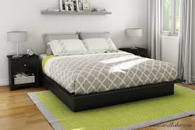 Amazon South Shore Step e Platform Bed with Mouldings King