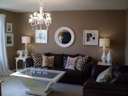 brown living room ideas brown leather sofa