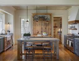 une cuisine pour tous cuisine gris et bois en 50 modèles variés pour tous les goûts