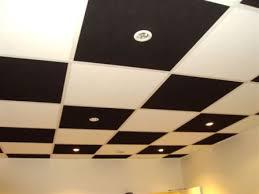 faux plafond suspendu dalle 60x60 isolation idées