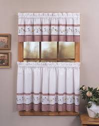 Kitchen Curtains Beautiful Purple Window Treatments Click Image For More