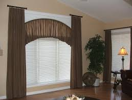 Graber Arched Curtain Rods by Corner Window Curtain Rod Window Treatments For Bay And Corner