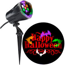 Halloween Yard Stake Lights by Halloween Projection U0026 Spot Lights Outdoor Halloween Decorations