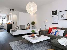 Grey Leather Sectional Living Room Ideas by Interior Interior Decoration Ideas Furniture Apartment Classy