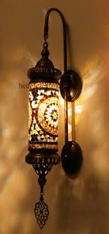 ottoman turkish style mosaic lighting wall sconce traditional