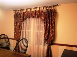 Image Of Casual Dining Room Curtain Ideas