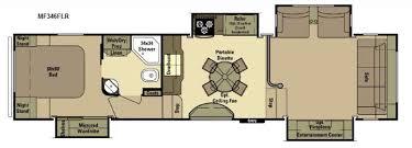 Montana 5th Wheel Floor Plans 2015 by New 2016 Open Range Rv Mesa Ridge Mf346flr Fifth Wheel At Us
