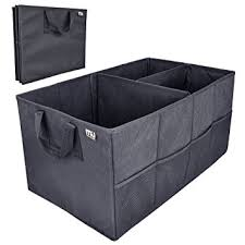 Car Trunk Storage Organizer MIU COLOR Collapsible Cargo Containers For Truck