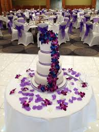 Brilliant Ideas Of Wedding Cakes With Purple For Royal Blue And Cake