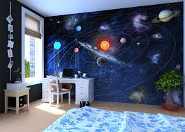 solar system wall mural wallpaper photowall home decor