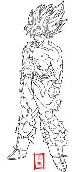 Goku Super Saiyan 3 Para Colorear Opticanovosti Bf9e13527d71