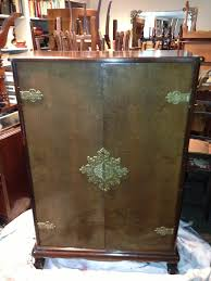Antique Record Cabinet Repurposed – SOLD