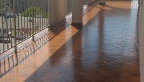 transparent waterproofing on balcony greece alchimica project