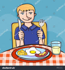 Breakfast Time Stock Vector 40030501