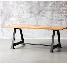 tables industrielles table industrielle métal et bois usine