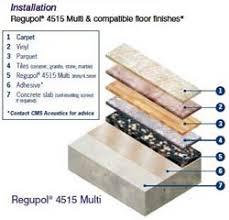 Regupol 4515 Acoustic Underlay Installation