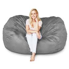 Bean Bag Chair 5 Ft Bean Bag Foot Chair 98 Big Joe Round Multiple Colors Mochi Beanbag Super Comfy Gamer Daisies Pie 10 Best Bean Bags The Ipdent Foam Chairs Filled With Giant Huge Extra Large Flash Fniture Oversized Solid Gray Best Of 2019 Your Digs Nearly New X2 From Argos Cordaroys Full Size Convertible By Lori Greiner Qvccom