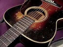 Beautifully Aged 1935 Martin 000 28 Herringbone Guitar In