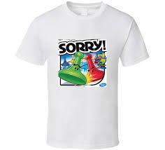 Sorry Board Game Fan T Shirt