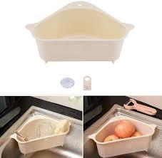 für küche bad waschbecken korb soap box organizer triangle
