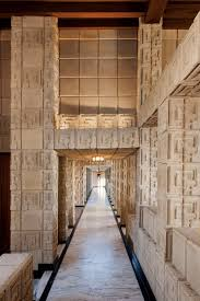 100 Frank Lloyd Wright Textile Block Houses S Mayan Masterpiece Ennis House Hits The