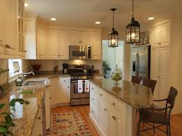 Kitchen Design Appealing White Rectangle Modern Wooden Decor Themes Stained Ideas Exciting