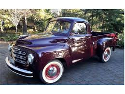 1950 Studebaker Truck For Sale | ClassicCars.com | CC-1045194 1951 Studebaker 2r5 Pickup Fantomworks 1954 3r Pick Up Small Block Chevy Youtube Vintage Truck Stock Photos For Sale Classiccarscom Cc975112 1947 Studebaker M5 12 Ton Pickup 1952 1953 1955 Car Truck Packard Nos Delco 3r5 Chop Top Build Project Champion Wikipedia Dodge Wiki Luxurious Image Gallery Gear Head Tuesday Daves Stewdebakker 56