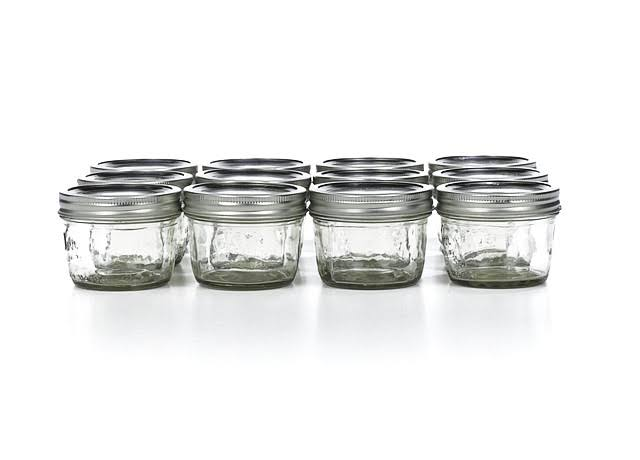 Kerr Mason Jars - Wide Mouth, 12x8oz