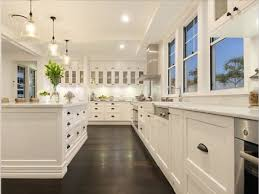 Kitchen Floor Tiles With Dark Cabinets White Kitchens And Wood